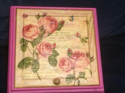 boite bijoux rose