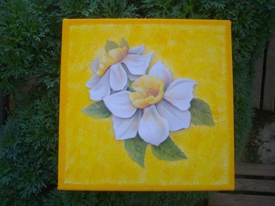Fleur 3 D vendu