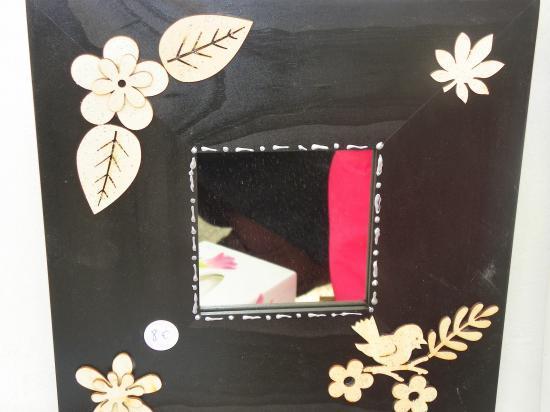 miroir noir 8 euros